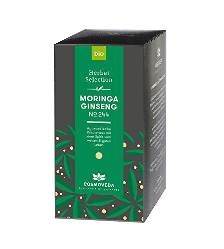 BIO Moringa Ginseng Tee 20 x 1,8g von Cosmoveda