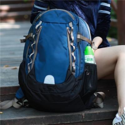 &ZHOU uomini e donne di sport zaino borsa borsa a tracolla grande capacità zaino borsa Messenger di svago del messaggero di moda , khaki Blue