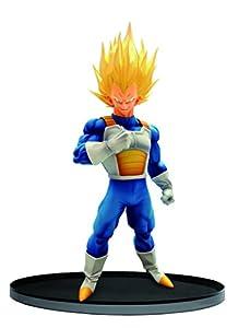 Banpresto Dragon Ball Estatua Scultures Big Budokai Super Saiyan Vegeta, Multicolor (25315)