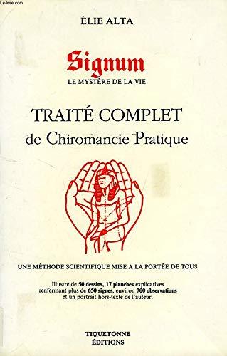 Traité complet de chiromancie pratrique par Alta