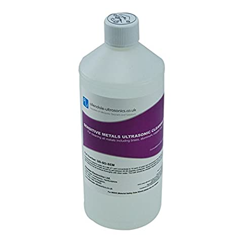 Sensitive Metals Ultrasonic Cleaner Solution- 1