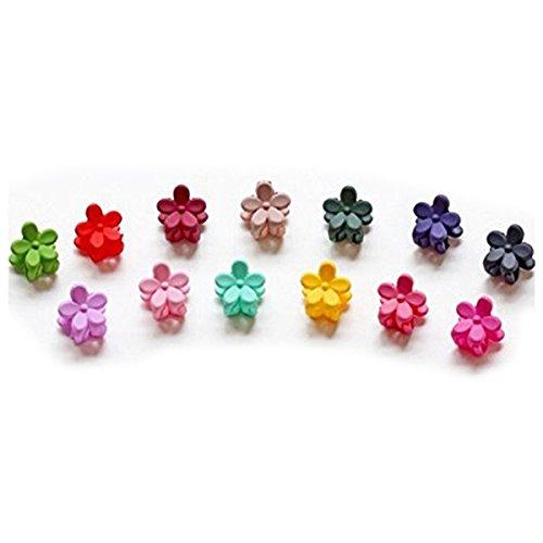 rosenice-mini-hair-claw-clip-capelli-pin-per-la-neonata-10pcscolore-casuale
