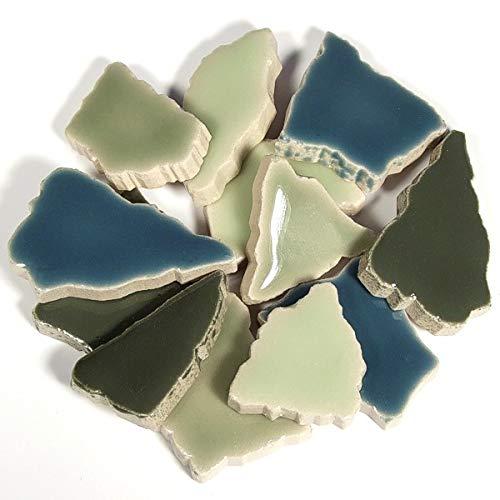 Unbekannt Flip Keramik - Farbmischungen Inhalt 750 g, Farbe Grün Mix