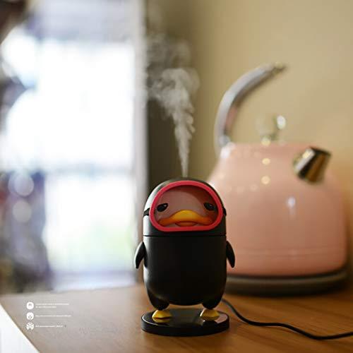 tbefeuchter für das Auto von USB für die Reise des Fahrzeugs, Schwarz ()