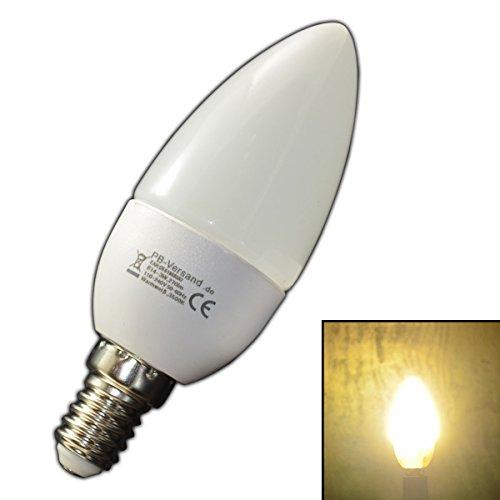 E14 LED / SMD Kerze Kerzenform Warmweiß Birne Energiesparlampe Lampe Strahler
