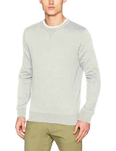 SELECTED HOMME Herren Sweatshirt Shhsimon Crew Neck Sweat Noos, Grau (Light Grey Melange), Large