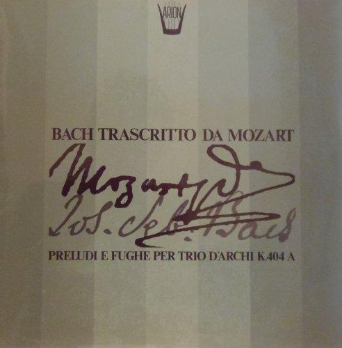 Bach Trascritto Da Mozart- [Vinilo]