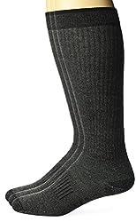 Wrangler Mens Lightweight Ultra-Dri Boot Socks 3 Pair Pack, Black, Sock Size:10-13/Shoe Size: 6-12