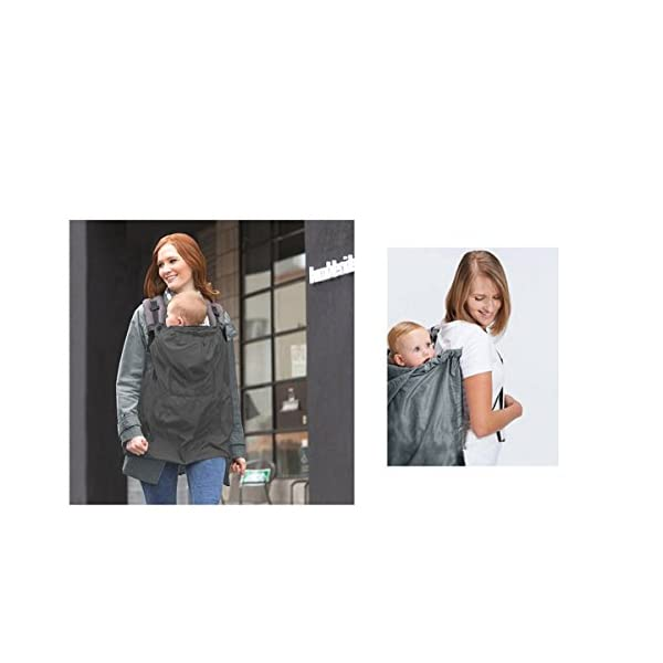 Yeahibaby Waterproof and Windproof Baby Carrier Cover Yeahibaby Easy to use and comfortable to wear. A cute design. Easy and convenient to use. Made from soft, breathable and skin-kind material. 5