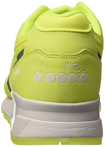 Diadora N9000 mm Bright, Scarpe Low-Top Unisex Adulto Giallo (97009 Giallo Fluo)