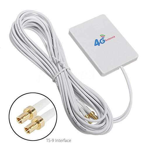BAAQII 28dBi 4G 3G LTE 2 x TS9 Breitband-Antennensignalverstärker für Mobile Router Vodafone 3g-usb