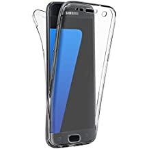 Custodia Per Samsung Galaxy S6 Edge, Hippolo Ultra Sottile 360آ° Full Body TPU Silicone Case Cover Per Samsung Galaxy S6 Edge