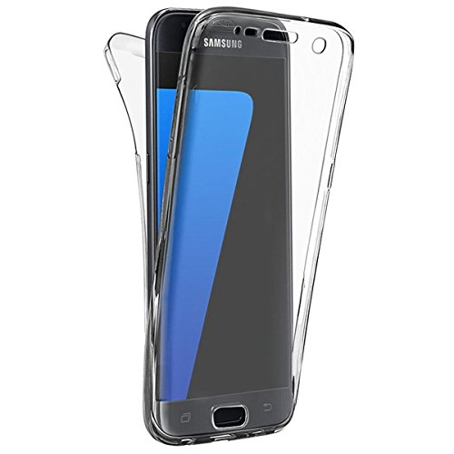 Custodia Per iPhone 7 4.7, Hippolo Ultra Sottile 360° Full Body TPU Silicone Case Cover Per iPhone 7 4.7 Trasparente