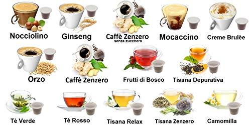 KIT ASSAGGIO 140 CAPSULE SOLUBILI & TE' & TISANE Lovespresso NESPRESSO - KIT ASSAGGIO 140 Capsule Compatibili Nespresso*