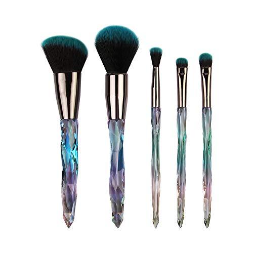 Beauty-Werkzeuge,Daysing Schminkpinsel Kosmetikpinsel Pinselset Rougepinsel Augenbrauenpinsel Puderpinsel Lidschattenpinsel 5 pcs Make-up Pinsel-Sets