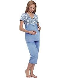 Be Mammy Damen Umstands Pyjama BE20-115