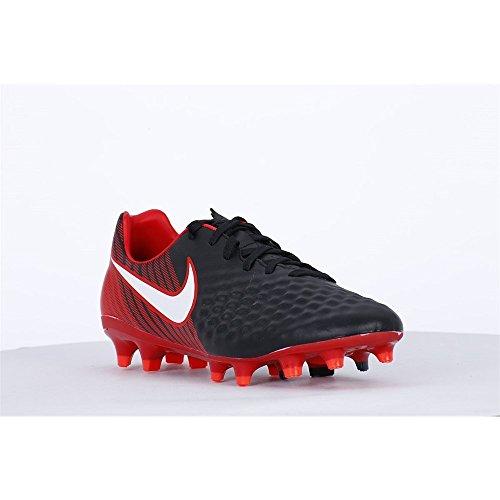 Nike Herren Magista Onda II FG Stollenschuh Schwarz (Schwarz/Weiß-Universität Rot 061)