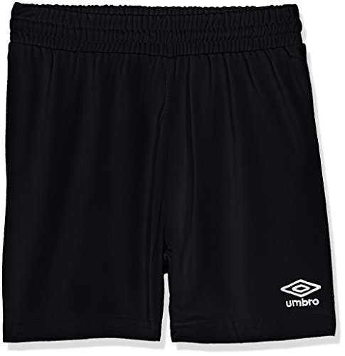 Umbro King Jnr Pantalones de Fútbol, Niños, (Negro 001), 110-122 cm