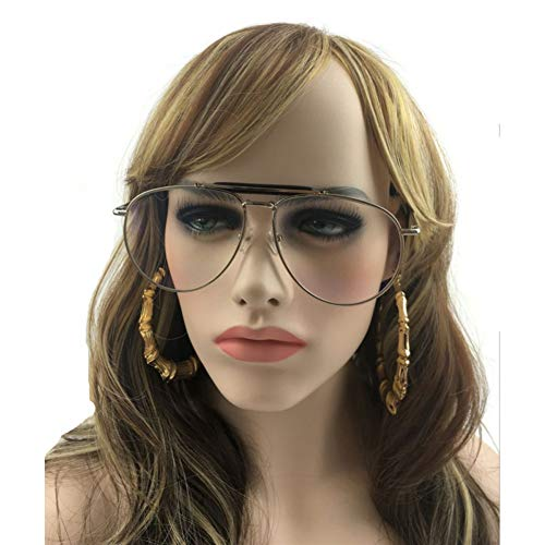 GBST Metal Frame Glasses Clear Lens Vintage Eyeglasses,A2