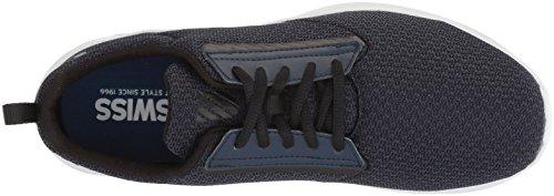 K-Swiss Herren aeronaut Sneaker Schwarz (Black Iris/Black/White)