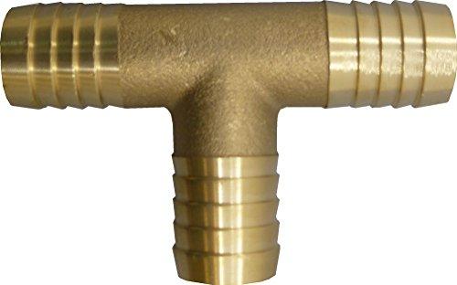 S&M M S & 551116-Te Striée en Laiton 30 mm avec Colliers de Serrage