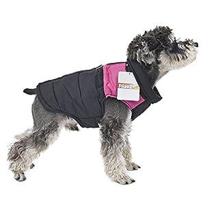 Miniwild Veste d'hiver pour chien Veste chaude Veste imperméable Facile à enfiler pour petits et grands animaux de compagnie