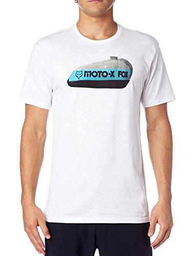 Herren T-Shirt Fox Gears And Gas T-Shirt opttic white