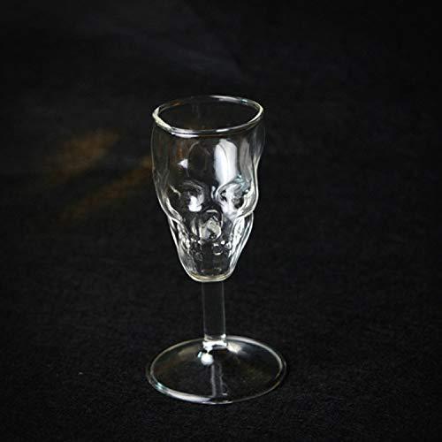 Glas Skeletal Skull Knochen Rüstung Wein Kaffee Tee Becher Bier Tasse Cool Creepy Collectibles...