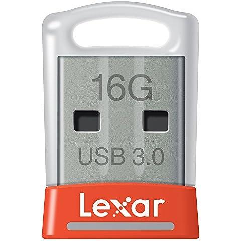 Lexar JumpDrive S45 - Memoria USB 3.0 de 16GB - LJDS45-16GABEU
