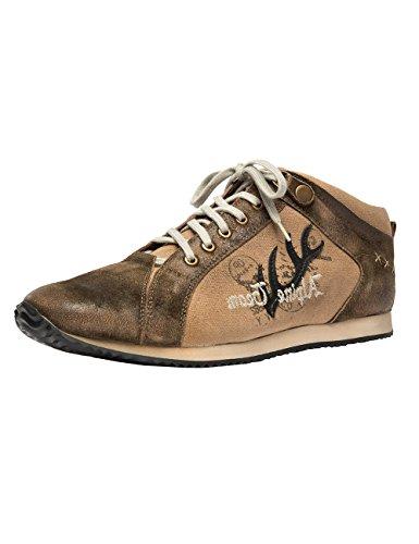 Stockerpoint Herren 1307 Sneaker, Braun (Bison Gespeckt), 42 EU
