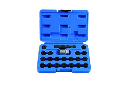 Laser 7108 Verrouillage Écrou de Roue de clé Set-vag 22pièce