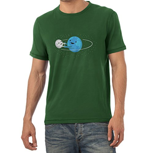 TEXLAB - Around me - Herren T-Shirt Flaschengrün