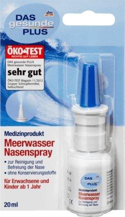 DAS gesunde PLUS Meerwasser Nasenspray, 1 x 20 ml Medizinprodukt