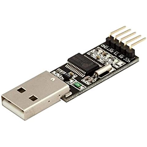 XHX USB-UART Adapter / FTDI RS232RL , USB to TTL-UART Serial Converter (5V / 3.3V,16MHz) compatible with Arduino, IO/sensor expansion