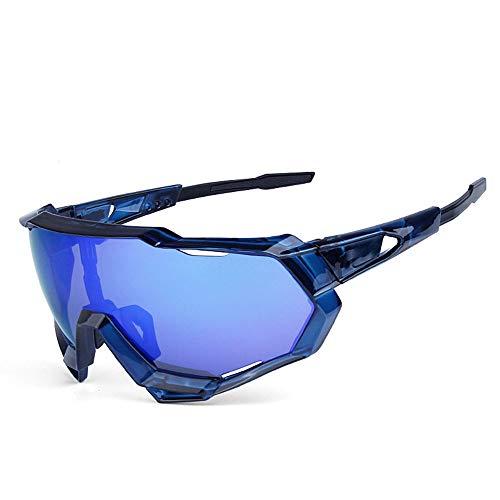Für Männer und Frauen Lightweight Biking Sports Wrap E Reiten Sandstrahlbrille Radfahren Sport Radfahren Angeln UV-Schutz Sonnenbrille Brillengestell Design für Herren und Damen 7 Farben
