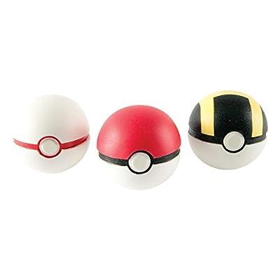 Pokemon (T18810D) - 3 Pokebolas. de Tomy