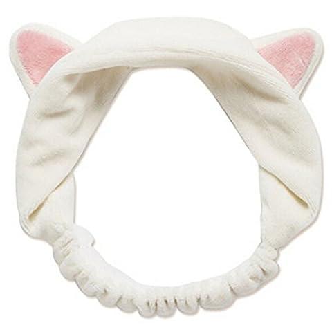Pu Ran® Bandeau à oreilles de chat pour femme fille