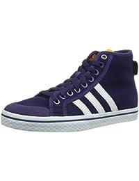 ADIDAS ORIGINALS HONEY Mid W Damen Sneaker Leder Schuhe Dunkelbraun Q34212