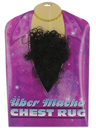 MIK funshopping Lockiges Brusthaar Toupet Über Macho, One Size (Blind Date Kostüm)