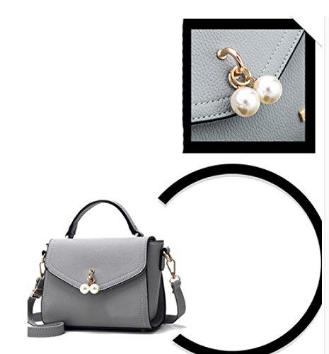 LAIDAYE Frau Mädchen Paket Schultertasche Messenger Bag Kleinen Quadratischen Paket Handtaschen 1