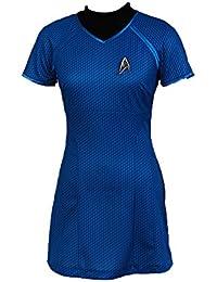 Jeylu En Darkness Marcus Star Trek Camiseta de Manga Corta Kimono de Disfraz Infantil de Azul versión