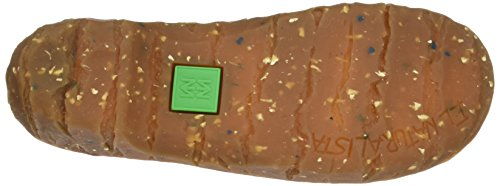 El Naturalista Damen N095 Soft Grain Yggdrasil Hohe Absätze mit Geschlossener Spitze Rot (Grosella)