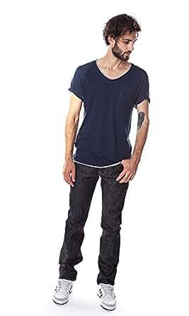 Edwin Jeans ED-71 Regular Slim Red Listed Selvage Denim 14 oz Blue Unwashed W38 L34 Men