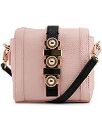 2d7c2241e2ff Versace Jeans Women Cross Body Bag Pink Genuine Designer Crossbody Bag RRP  £204.00