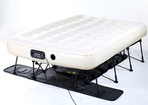 Carlo Milano Gästebett: Luxus-Luftbett mit integrierter Pumpe, 200 x 140 cm (Gäste Luftbetten) - 8