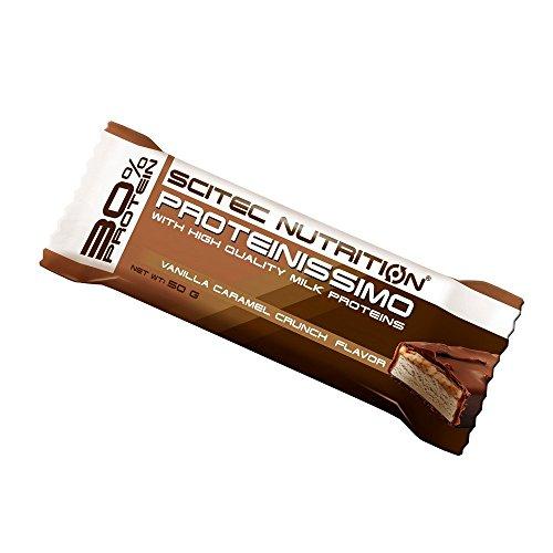 Scitec Nutrition Proteinissimo Vanille - Karamell-Knusper, 1er Pack (1 x 750 g)