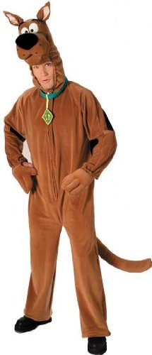 Herren Scooby Doo Kostüm - Offiziell Lizenzierte (Kostüme Scooby Doo Uk)