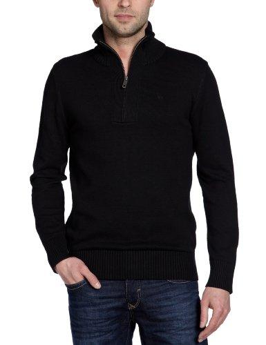MEXX Herren Pullover H3RE0017 (Weitere Farben) Schwarz (Black 001)