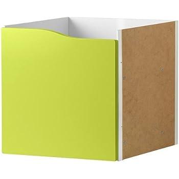 IKEA KALLAX Einsatz mit 2 Schubladen ohne Griff in blau; 33x33cm ; passt zu EXPEDIT