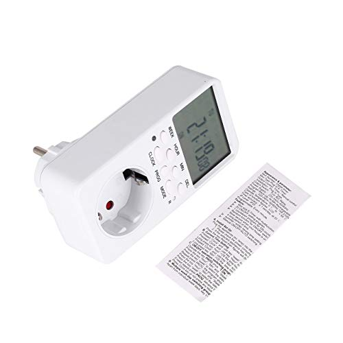 Prima05Sally Mini LCD Digital 230V 16A Temporizador